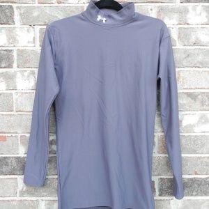 Under Armour Men's Large Compression Shirt Gray